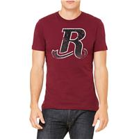 Men's Crewneck Tee In Burgundy