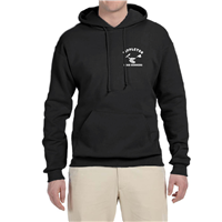 Men's Pullover Hoodie in Black